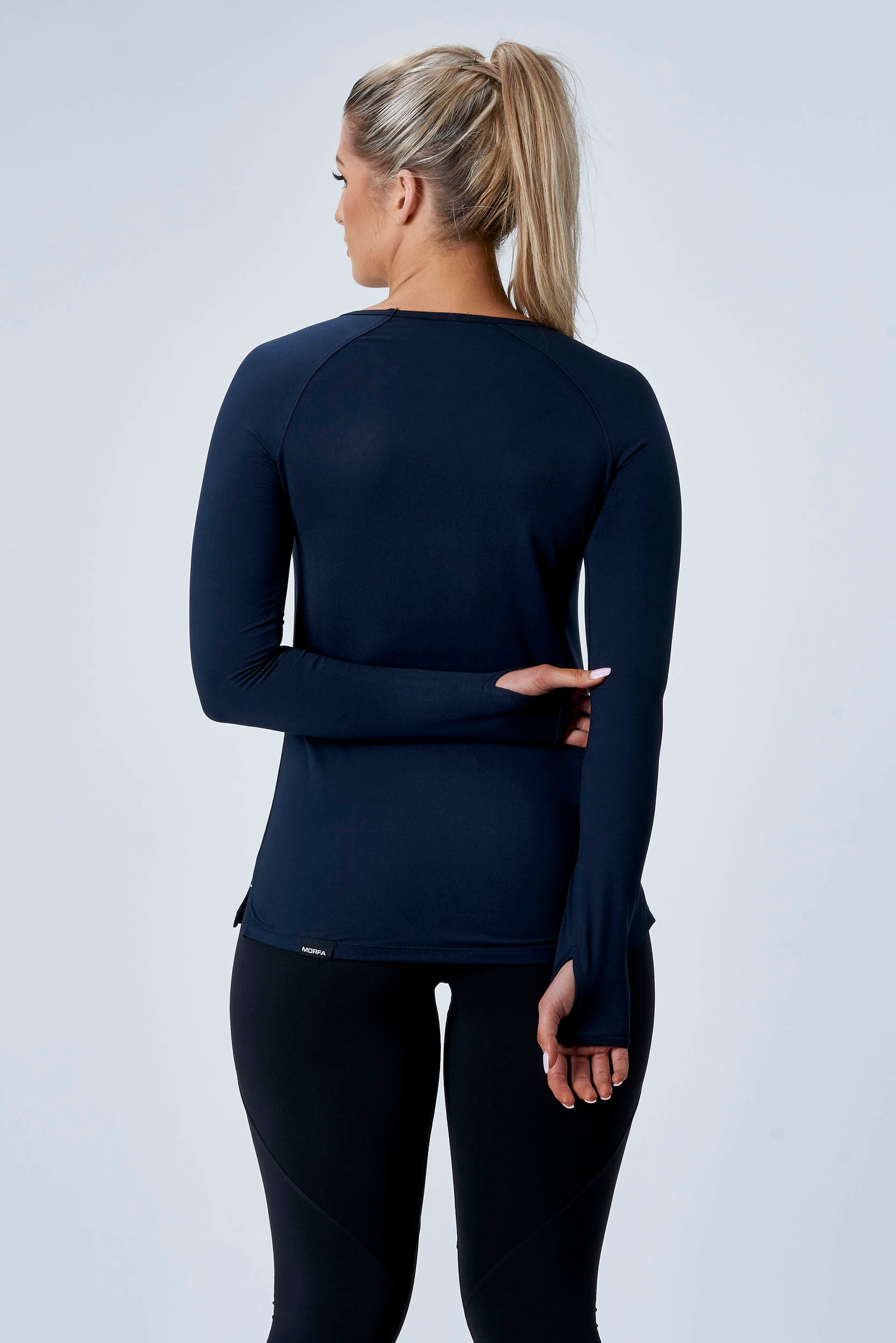 CarbonTech - ATHLETIC L/S- NAVY