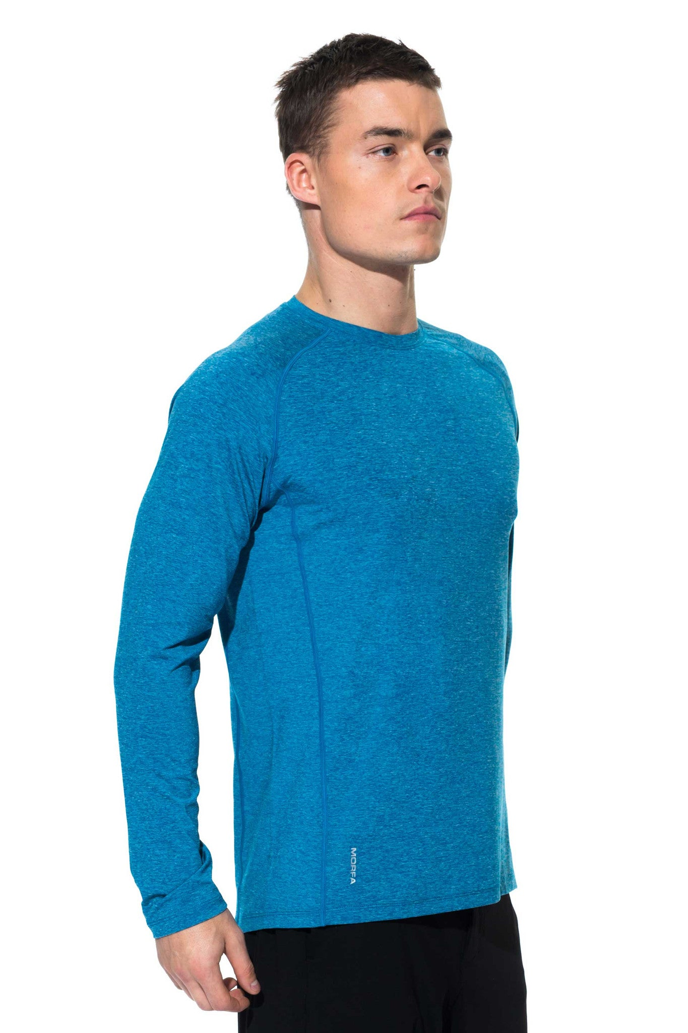 FOCUS LONG SLEEVE - OCEAN - ( SIZES: L )