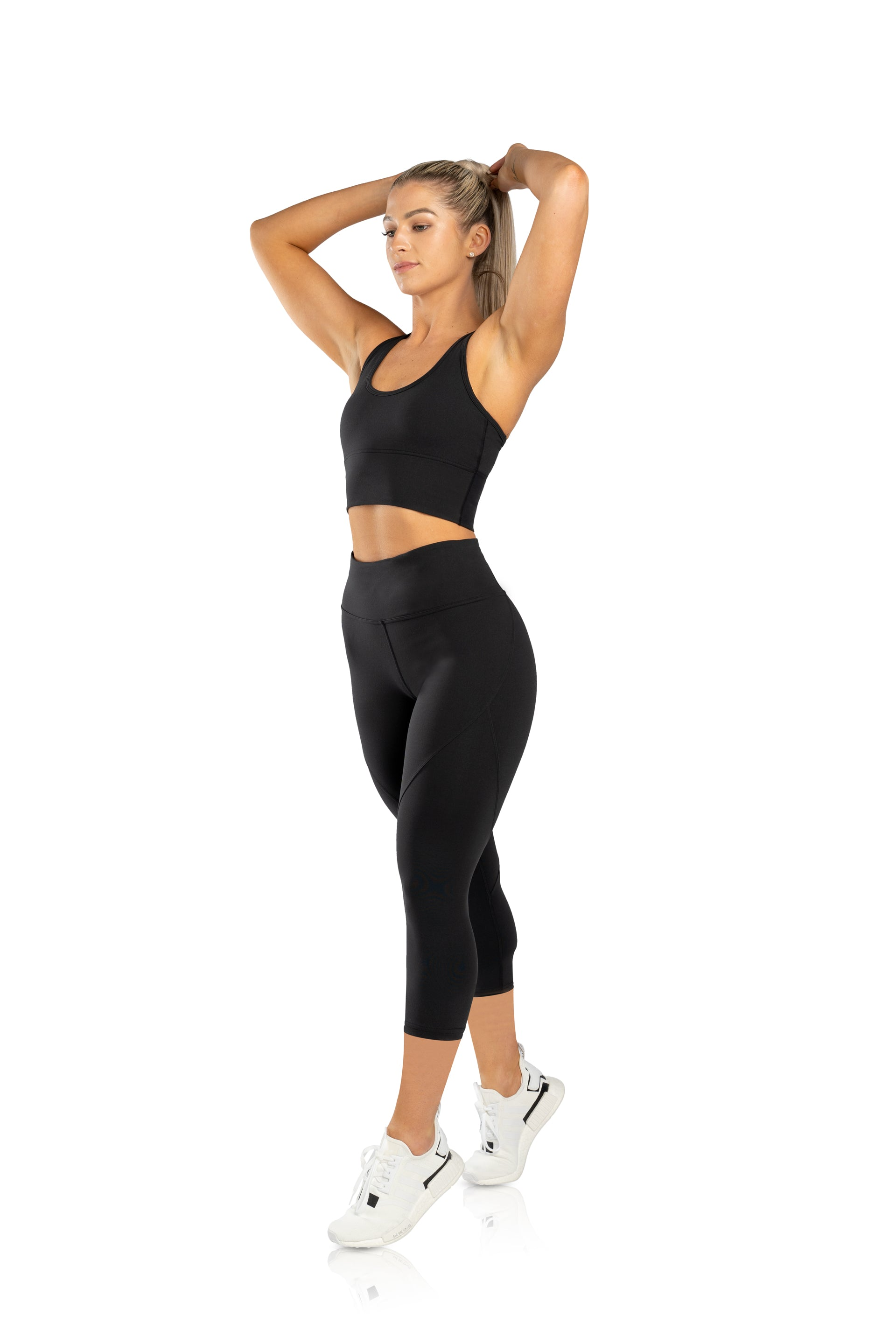 SCULPT 3/4 TIGHTS - BLACK - PRE ORDER