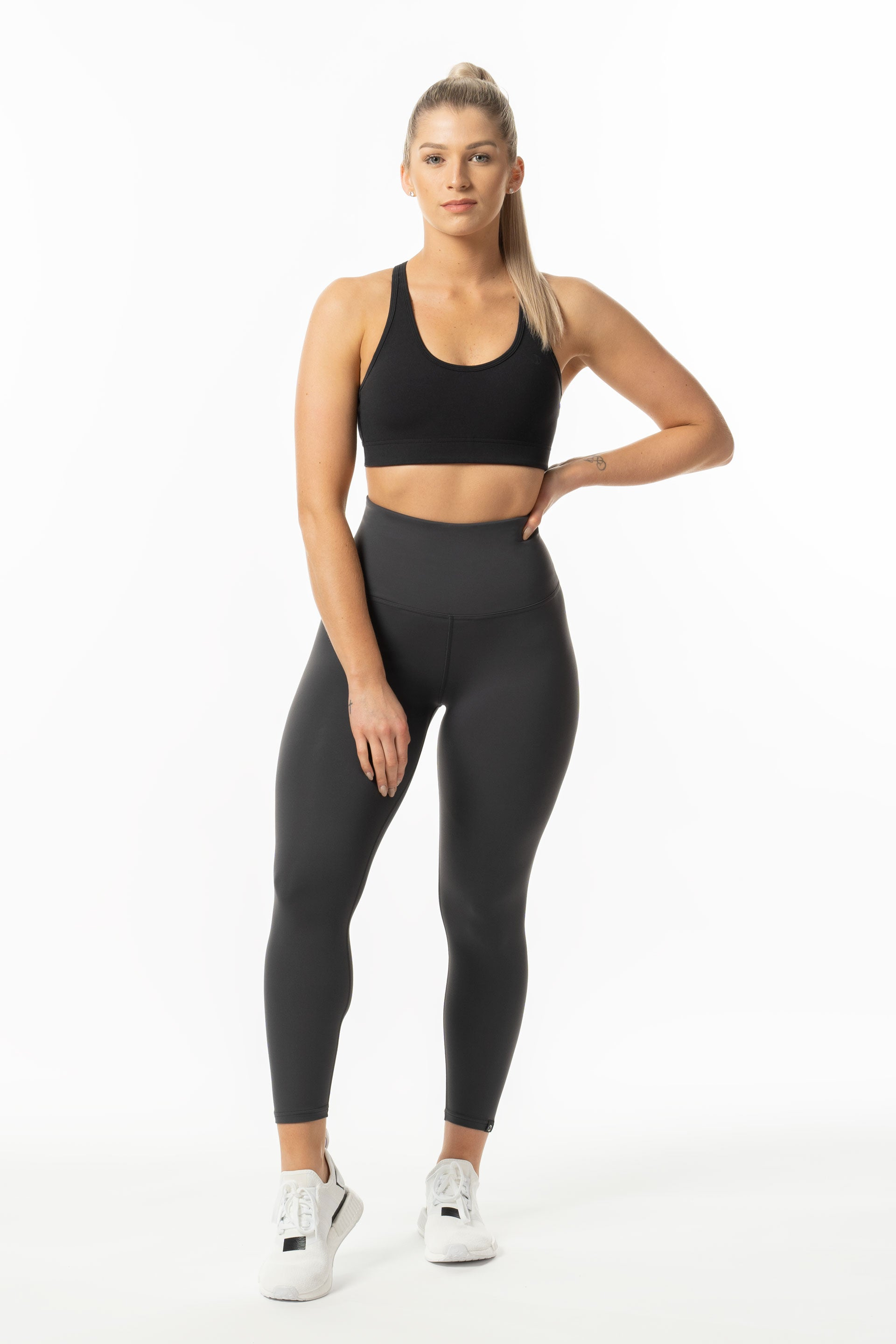 TechLite 7/8 Hi-RISE TIGHTS - GREY ( SIZES: XS, S & XL)