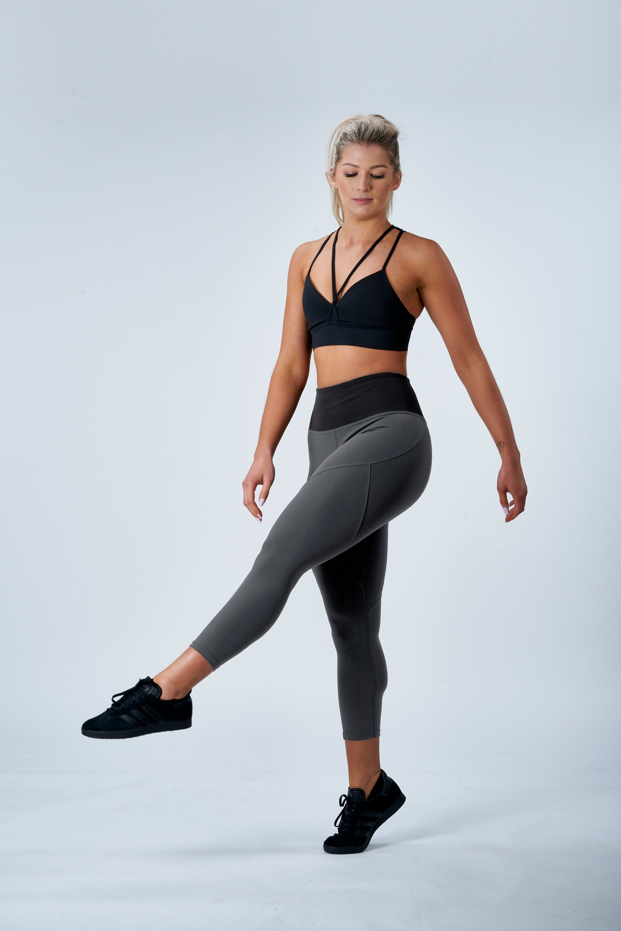 SCULPT 7/8 TIGHTS - GREY