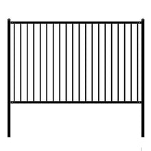 Load image into Gallery viewer, ALEKO Gates and Fences ALEKO Products DIY Steel Iron Wrought High Quality Fence - Lyon Style - 8 x 5 Feet FENCELYON8X5-AP