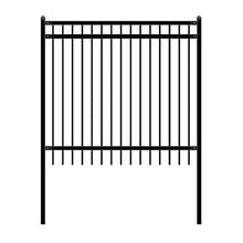 Load image into Gallery viewer, ALEKO Gates and Fences ALEKO Products DIY Steel Iron Wrought High Quality Fence - Nice Style - 6 x 6 Feet FENCENICE6X6-AP