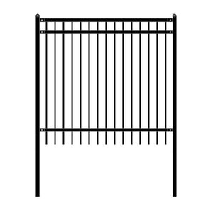 ALEKO Gates and Fences ALEKO Products DIY Steel Iron Wrought High Quality Fence - Nice Style - 6 x 6 Feet FENCENICE6X6-AP