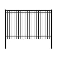 Load image into Gallery viewer, ALEKO Gates and Fences ALEKO Products DIY Steel Iron Wrought High Quality Fence - Nice Style - 8 x 5 Feet FENCENICE8X5-AP