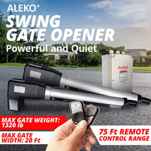 Load image into Gallery viewer, ALEKO Gates and Fences ALEKO Products Dual Swing Gate Operator - AS1200 AC/DC - Accessory Kit ACC4 AS1200ACC-AP AS1200ACC-AP