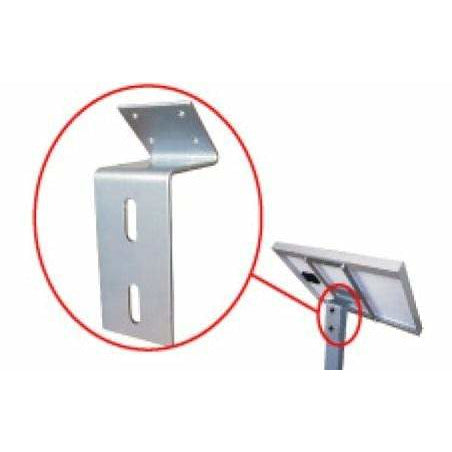 ALEKO Gates and Fences ALEKO Products LM116Z-AP Z-Bracket for Solar Panel - LM116Z LM116Z-AP