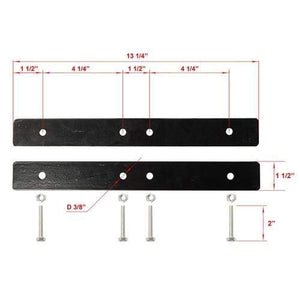 ALEKO Gates and Fences ALEKO Products LM1902-AP Universal Gate Attaching Brackets - LM1902 - Set of 2 LM1902-AP