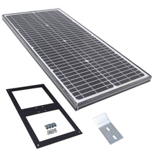 Load image into Gallery viewer, ALEKO Gates and Fences ALEKO Products Single Swing Gate Operator - GG850/AS850 AC/DC - Solar Kit 50W GG850SOL-AP GG850SOL-AP