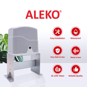 ALEKO Gates and Fences ALEKO Products Sliding Gate Opener - AR1550 - Basic Kit AR1500NOR-AP AR1500NOR-AP
