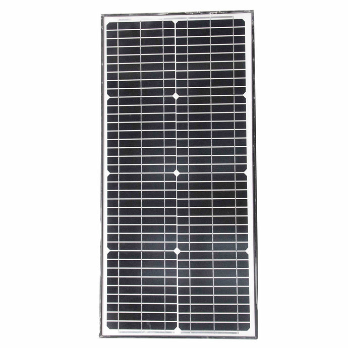 ALEKO Gates and Fences ALEKO Products Solar Panel - Monocrystalline - 30W - 24V SP30W24V-AP SP30W24V-AP