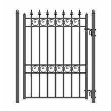 Load image into Gallery viewer, ALEKO Gates and Fences ALEKO Products Steel Pedestrian Gate - OSLO Style - 5 ft PGOSL-AP