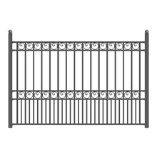 Load image into Gallery viewer, ALEKO Gates and Fences Black ALEKO Products Steel Fence - PARIS Style - 8 x 5 Ft FENCEPAR-AP
