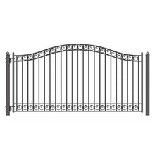 Load image into Gallery viewer, ALEKO Products Steel Single Swing Driveway Gate - DUBLIN Style - 18 x 6 Feet DG18DUBSSW-AP