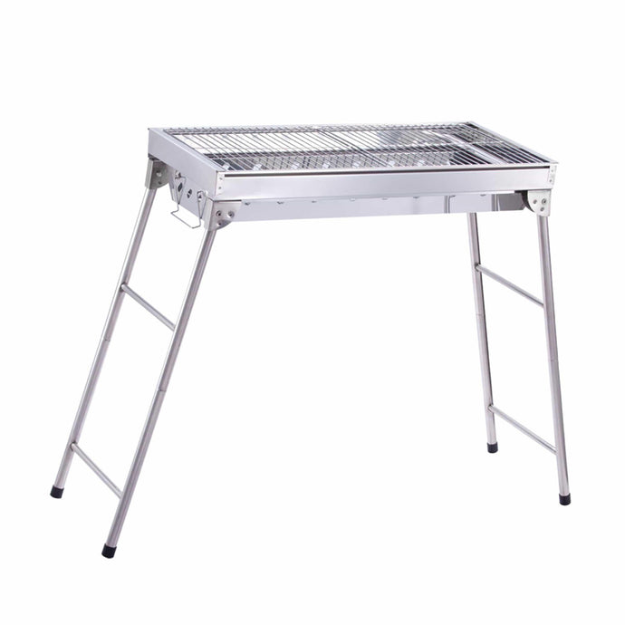 ALEKO Oudoor ALEKO Products Lightweight Portable Foldable Stainless Steel Charcoal Barbecue Grill GBBQ580-AP GBBQ580-AP