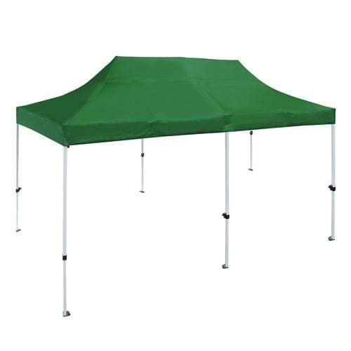 ALEKO Outdoor ALEKO Products Gazebo 420D Ox ford Canopy Party Tent - 10x 20 Ft - Green Color GZF10X20GR-AP GZF10X20GR-AP
