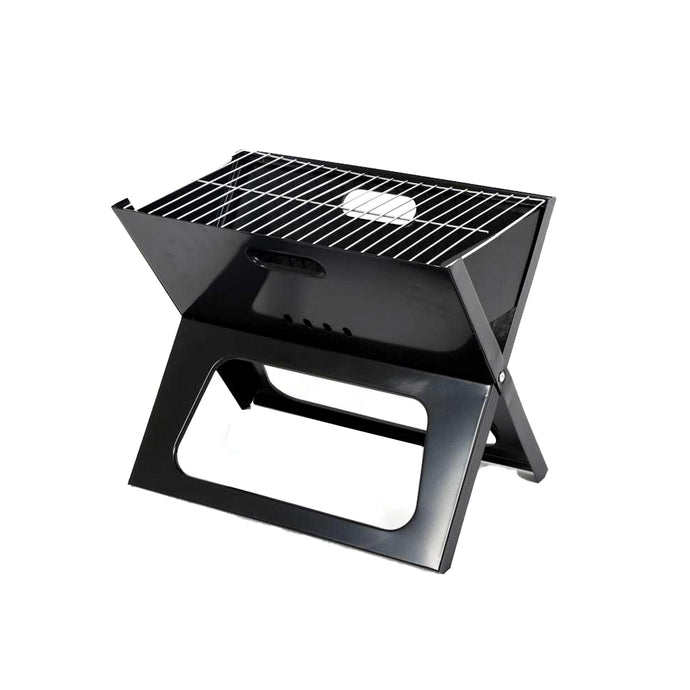 ALEKO Outdoor ALEKO Products Premium Foldable Outdoor Tabletop Charcoal Barbecue X Grill - Black BBQG01F-AP BBQG01F-AP