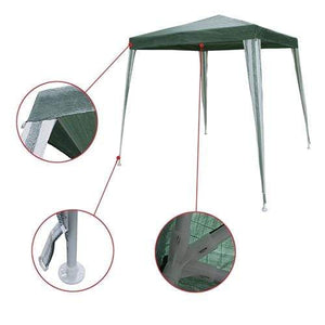 ALEKO Outdoor ALEKO Products Waterproof Gazebo Tent Canopy for Outdoor Events - Green Color GZ6.5X6.5GR-AP GZ6.5X6.5GR-AP