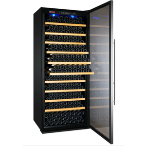 "Allavino Wine Refrigerators Allavino Products 32"" Wide Vite Series 305 Bottle Single Zone Stainless Steel Right Hinge Wine Refrigerator YHWR305-1SRT YHWR305-1SRT"