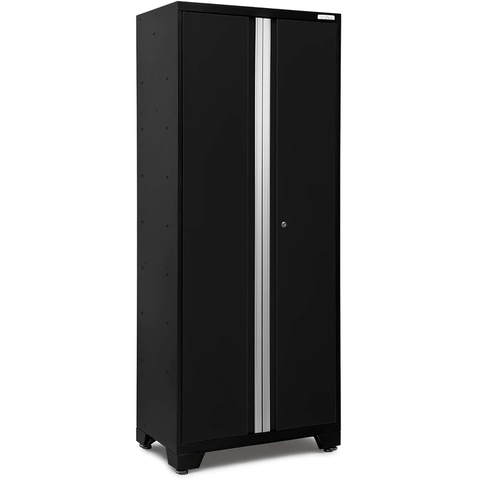 Garage Reserve Garage Cabinets Black NewAge Products BOLD SERIES 3.0 30 in. Multi-Use Locker 50004 49004