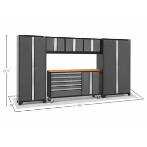 Garage Reserve NewAge Products BOLD SERIES 3.0 6 Piece Cabinet Set 50502