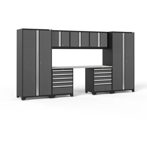 Garage Reserve NewAge Products PRO SERIES 3.0 8 Piece Cabinet Set 52090