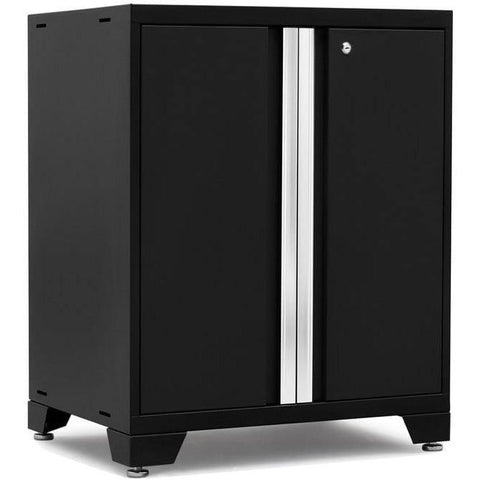 Image of NewAge Products Garage Cabinets Black NewAge Products PRO SERIES 3.0 2-Door Base Cabinet 52002 52802