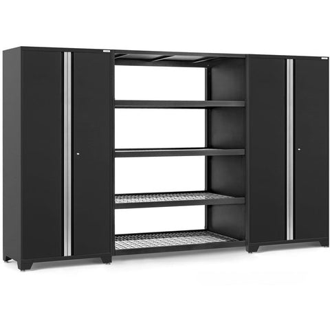Image of NewAge Products Garage Cabinets Black NewAge Products PRO SERIES 3.0 3 Piece Cabinet Set 55996 64340