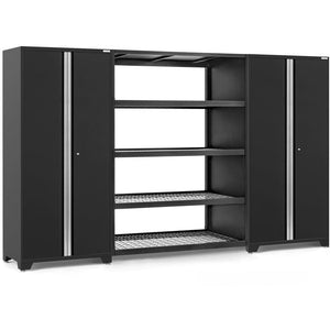 NewAge Products Garage Cabinets Black NewAge Products PRO SERIES 3.0 3 Piece Cabinet Set 55996 64340