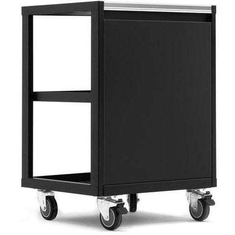 Image of NewAge Products Garage Cabinets Black NewAge Products PRO SERIES 3.0 Mobile Utility Cart 52630 52838