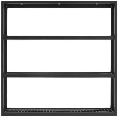 NewAge Products Garage Cabinets Bold Series 3.0 NewAge Products BOLD SERIES 3.0 72 in. Wall Mounted Rack - Black 41000 41000