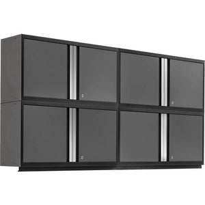 NewAge Products Garage Cabinets Gray - In Stock NewAge Products PRO SERIES 3.0 4 Piece Cabinet Set 55990 55990
