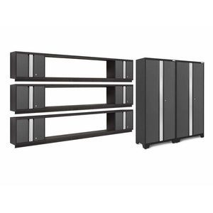 NewAge Products Garage Cabinets Gray NewAge Products BOLD SERIES 3.0 11 Piece Cabinet Set 50685 50685