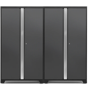 NewAge Products Garage Cabinets Gray NewAge Products BOLD SERIES 3.0 2 Piece Cabinet Set 53834 53834