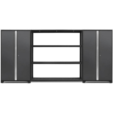 NewAge Products Garage Cabinets Grey NewAge Products BOLD SERIES 3.0 3 Piece Cabinet Set 53832 53832