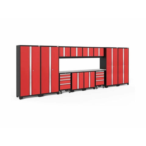 Image of NewAge Products Garage Cabinets NewAge Products BOLD SERIES 3.0 14 Piece Cabinet Set 50416