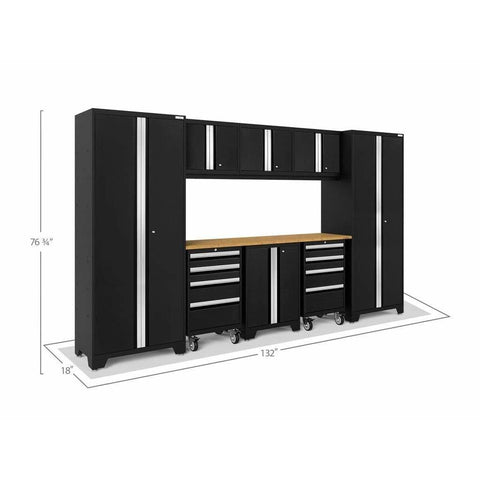 NewAge Products Garage Cabinets NewAge Products BOLD SERIES 3.0 9 Piece Cabinet Set 50406
