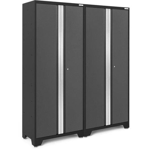 Image of NewAge Products Garage Cabinets NewAge Products BOLD SERIES 3.0 Gray 2 Piece Set 50669 50669