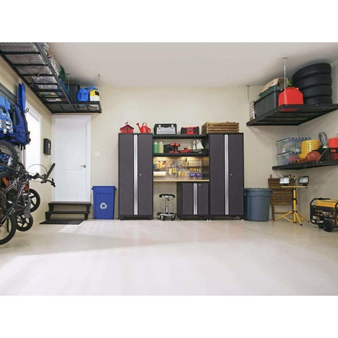 Image of NewAge Products Garage Cabinets NewAge Products BOLD SERIES 3.0 Gray 6 Piece Cabinet Set 50679 50679