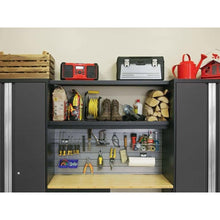 Load image into Gallery viewer, NewAge Products Garage Cabinets NewAge Products BOLD SERIES 3.0 Gray 6 Piece Cabinet Set 50679 50679