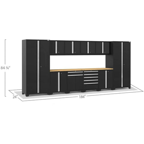 NewAge Products Garage Cabinets NewAge Products PRO SERIES 3.0 12 Piece Cabinet Set 52153