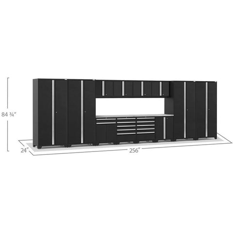 Image of NewAge Products Garage Cabinets NewAge Products PRO SERIES 3.0 14 Piece Cabinet Set 52144