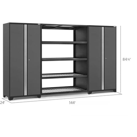 Image of NewAge Products Garage Cabinets NewAge Products PRO SERIES 3.0 3 Piece Cabinet Set 55996