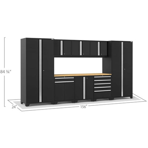Image of NewAge Products Garage Cabinets NewAge Products PRO SERIES 3.0 9 Piece Cabinet Set 52066