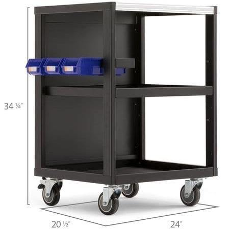 Image of NewAge Products Garage Cabinets NewAge Products PRO SERIES 3.0 Mobile Utility Cart 52630