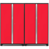 Image of NewAge Products Garage Cabinets Red NewAge Products BOLD SERIES 3.0 2 Piece Cabinet Set 53834 53835