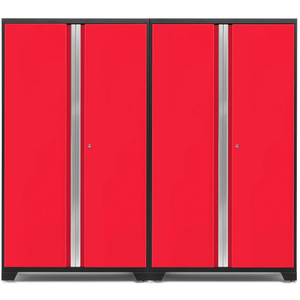 NewAge Products Garage Cabinets Red NewAge Products BOLD SERIES 3.0 2 Piece Cabinet Set 53834 53835