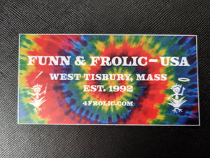 Funn & Frolic sticker