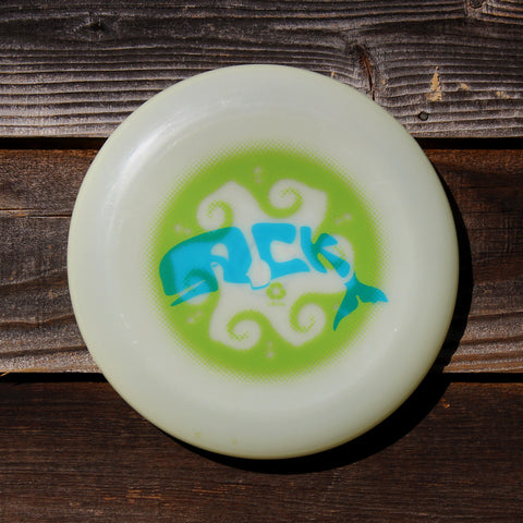 NANTUCKET ACK WHALER  175gm glow / ultimate frisbee