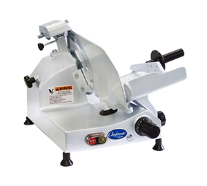 "Globe Chefmate C9 - 9"" Manual Gravity Feed Slicer - 1/4 hp"